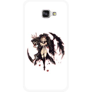 Snooky Printed Kungfu Girl Mobile Back Cover For Samsung Galaxy A3 (2016) - Multicolour