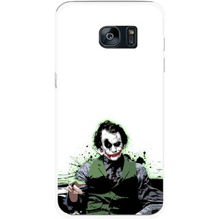 Snooky Printed Joker Mobile Back Cover For Samsung Galaxy S7 - Multicolour