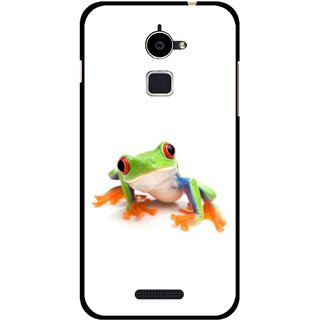 Snooky Printed Frog Mobile Back Cover For Coolpad Note 3 Lite - Multi
