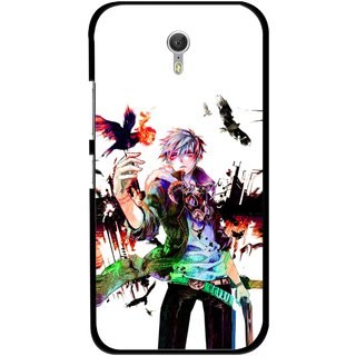 Snooky Printed Angry Man Mobile Back Cover For Lenovo Zuk Z1 - Multicolour