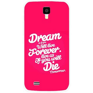 Snooky Printed Live the Life Mobile Back Cover For Gionee Pioneer P2S - Multicolour