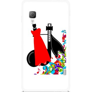 Snooky Printed Fashion Mobile Back Cover For Lg Optimus L5II E455 - Multicolour