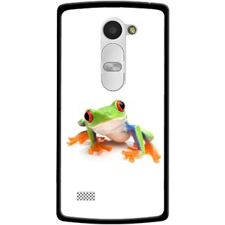Snooky Printed Frog Mobile Back Cover For Lg Leon - Multi