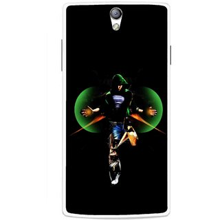 Snooky Printed Hero Mobile Back Cover For Oppo Find 5 Mini - Multicolour