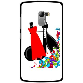Snooky Printed Fashion Mobile Back Cover For Lenovo K4 Note - Multicolour