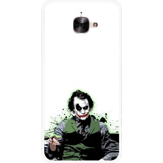 Snooky Printed Joker Mobile Back Cover For Letv Le 2 - Multicolour