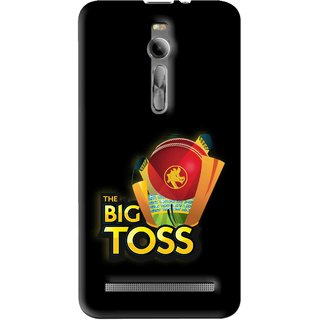 Snooky Printed Big Toss Mobile Back Cover For Asus Zenfone 2 - Multi
