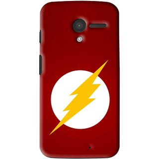 Snooky Printed High Voltage Mobile Back Cover For Moto X - Multi