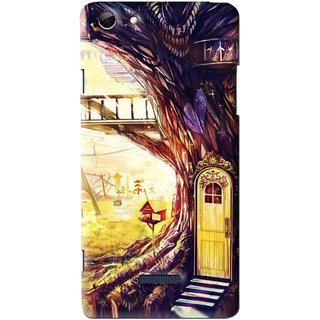Snooky Printed Dream Home Mobile Back Cover For Micromax Canvas Selfie 3 Q348 - Multi