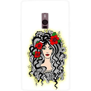 Snooky Printed Tarro Girl Mobile Back Cover For OnePlus 2 - Multi