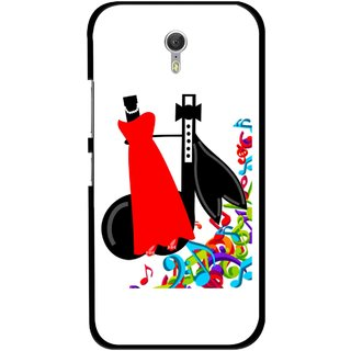 Snooky Printed Fashion Mobile Back Cover For Lenovo Zuk Z1 - Multicolour