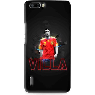 Snooky Printed Sports Villa Mobile Back Cover For Huawei Honor 6 Plus - Multi