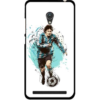 Snooky Printed Have To Win Mobile Back Cover For Asus Zenfone 5 - Multicolour