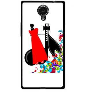 Snooky Printed Fashion Mobile Back Cover For Gionee Elife E7 - Multicolour