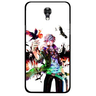 Snooky Printed Angry Man Mobile Back Cover For Lg X Screen - Multicolour