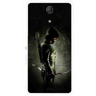Snooky Printed Hunting Man Mobile Back Cover For Sony Xperia ZR - Multicolour