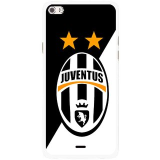 Snooky Printed Football Club Mobile Back Cover For Micromax Canvas Sliver 5 Q450 - Multi