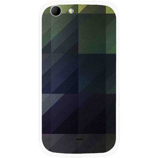Snooky Printed Geomatric Shades Mobile Back Cover For Micromax Canvas 4 A210 - Multicolour