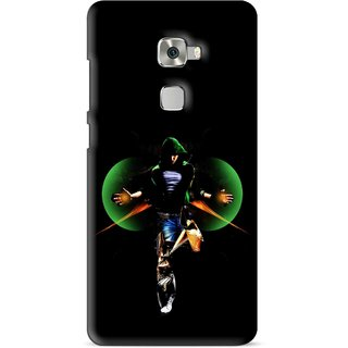 Snooky Printed Hero Mobile Back Cover For Huawei Mate S - Multi