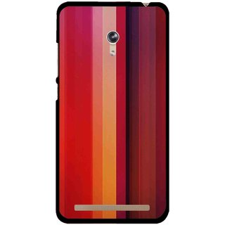Snooky Printed Colorfull Stripes Mobile Back Cover For Asus Zenfone 6 - Multicolour