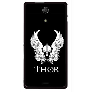 Snooky Printed The Thor Mobile Back Cover For Sony Xperia ZR - Multicolour