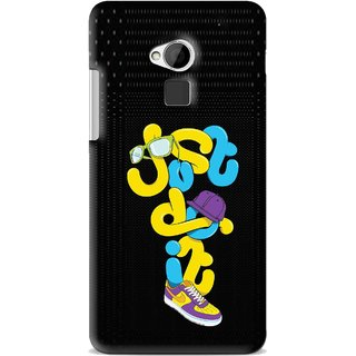 Snooky Printed Just Do it Mobile Back Cover For HTC One Max - Multi