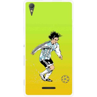 Snooky Printed Focus Ball Mobile Back Cover For Sony Xperia T3 - Multicolour