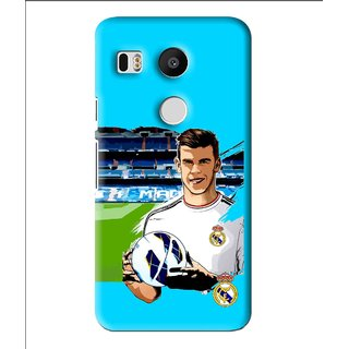 Snooky Printed Football Champion Mobile Back Cover For Lg Google Nexus 5X - Multi