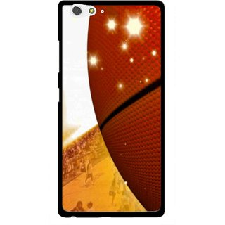 Snooky Printed Basketball Club Mobile Back Cover For Gionee Elife S6 - Multi