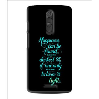 Snooky Printed Everywhere Happiness Mobile Back Cover For Moto X3 - Multi