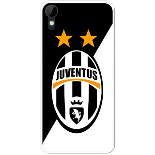 Snooky Printed Football Club Mobile Back Cover For HTC Desire 825 - Multi