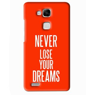 Snooky Printed Never Loose Mobile Back Cover For Huawei Ascend Mate 7 - Multi
