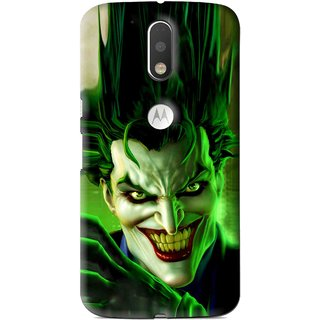 Snooky Printed Horror Wilian Mobile Back Cover For Moto G4 Plus - Multi
