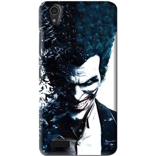 Snooky Printed Freaking Joker Mobile Back Cover For Lenovo A3900 - Multi