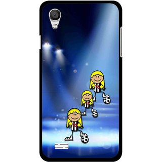 Snooky Printed Girls On Top Mobile Back Cover For Vivo Y11 - Multi