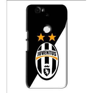 Snooky Printed Football Club Mobile Back Cover For Huawei Nexus 6P - Multi