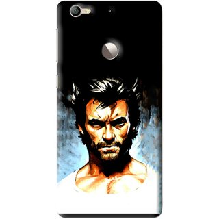 Snooky Printed Angry Man Mobile Back Cover For Letv Le 1S - Multi