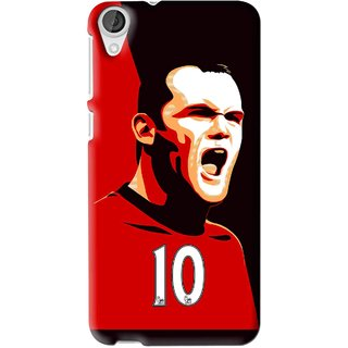 Snooky Printed Sports ManShip Mobile Back Cover For HTC Desire 626 - Multi