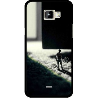 Snooky Printed God Door Mobile Back Cover For Micromax Canvas Nitro A310 - Multicolour