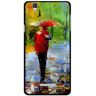 Snooky Printed Painting Mobile Back Cover For Micromax YU YUREKA - Multi