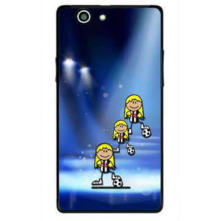 Snooky Printed Girls On Top Mobile Back Cover For Xolo A500s - Multi