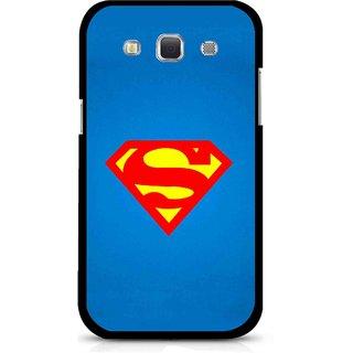 Snooky Printed Super Logo Mobile Back Cover For Samsung Galaxy 8552 - Multicolour