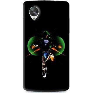 Snooky Printed Hero Mobile Back Cover For Lg Google Nexus 5 - Multi