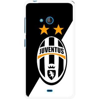Snooky Printed Football Club Mobile Back Cover For Nokia Lumia 540 - Multicolour