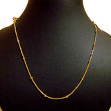 Buy 1 Get 1 Free Short Gold Plated Chain / Necklace