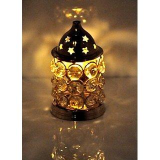 Heaven Decor Crystal Akhand diya 4 inch