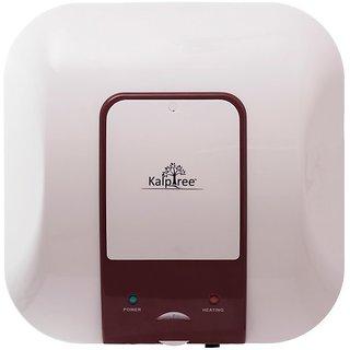 Kalptree - Sapphire 25 Liters - Water Heater / Geyser (Off-White - Red)