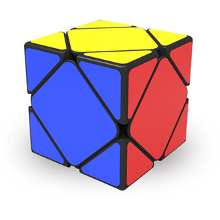 Smoothest And Fastest RS's Skewb Puzzle Magic Speed Cube  Best Toy For Gift Black Base