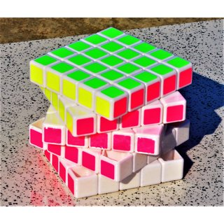 5x5x5 Fast And Smooth Rubik's Color Cubes Magic Cube Puzzle Toys Gift