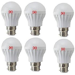 Alpha 5 Watt led bulb pack of 6